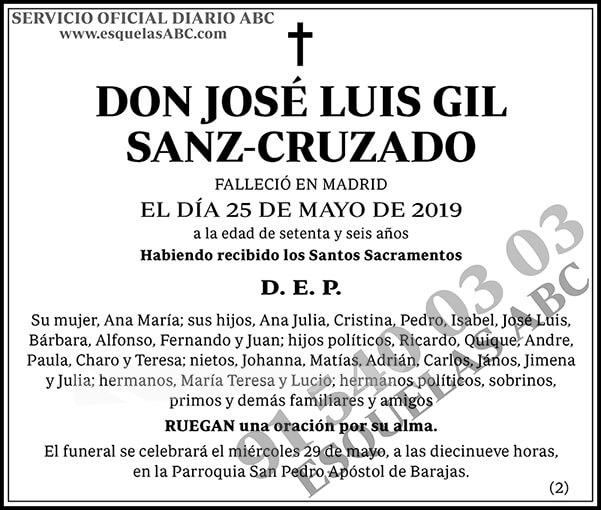 José Luis Gil Sanz-Cruzado