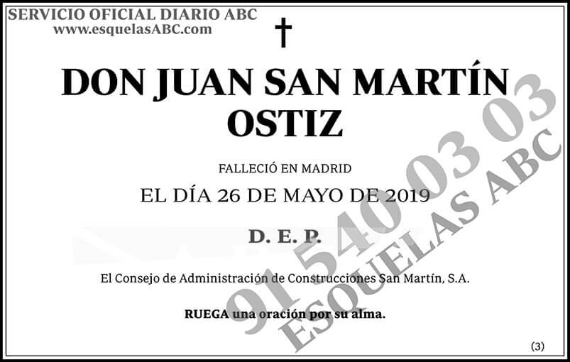 Juan San Martín Ostiz