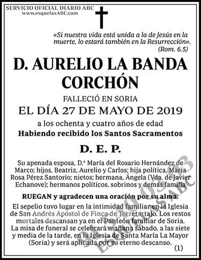 Aurelio la Banda Corchón