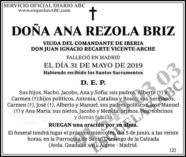 Ana Rezola Briz