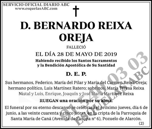 Bernardo Reixa Oreja