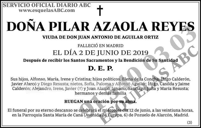 Pilar Azaola Reyes