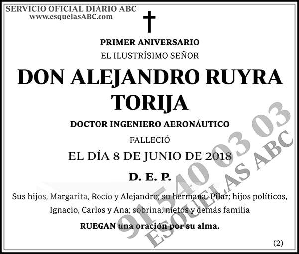 Alejandro Ruyra Torija