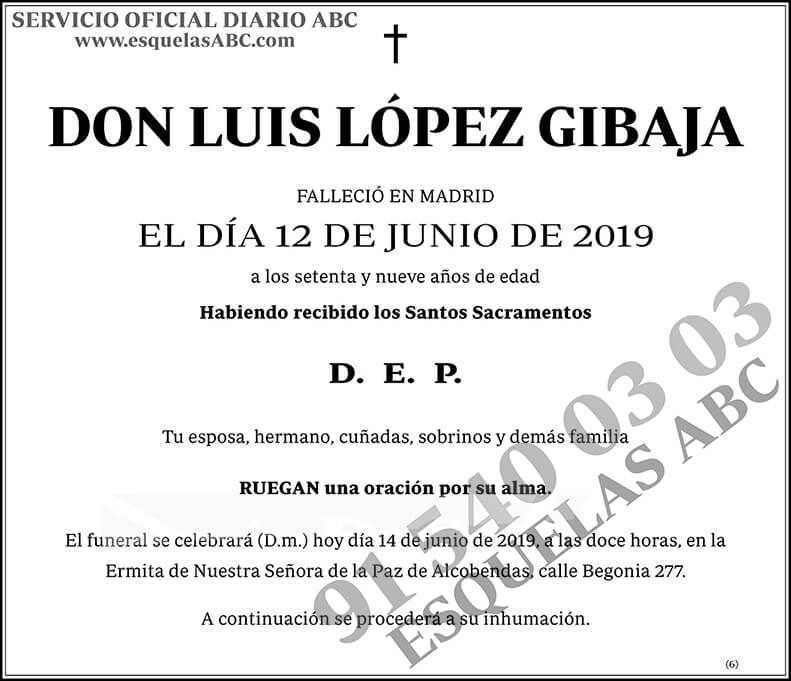 Luis López Gibaja
