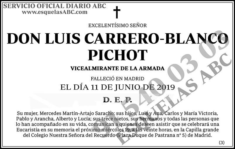 Luis Carrero-Blanco Pichot