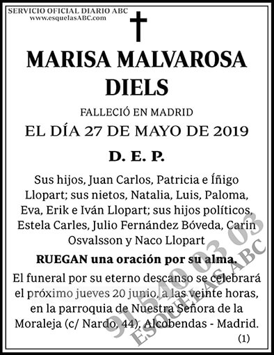 Marisa Malvarosa Diels