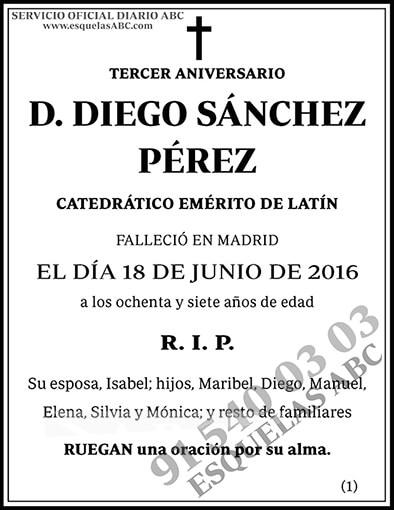 Diego Sánchez Pérez