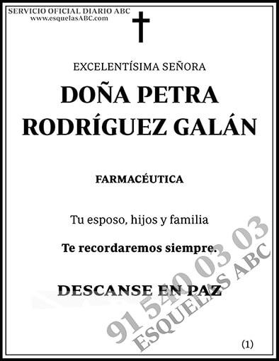 Petra Rodróguez Galán