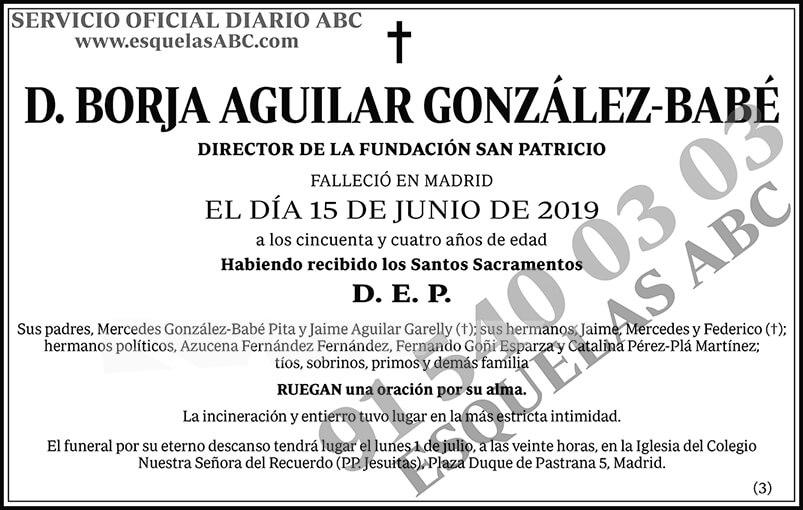 Borja Aguilar González-Babé