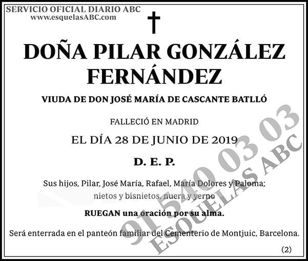 Pilar González Fernández