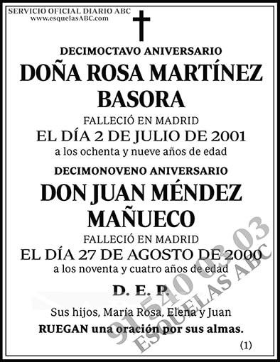 Rosa Martínez Basora