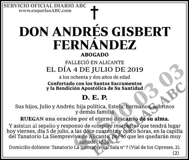 Andrés Gisbert Fernández