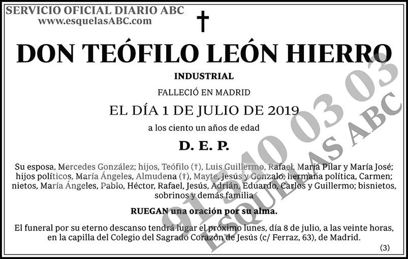 Teófilo León Hierro