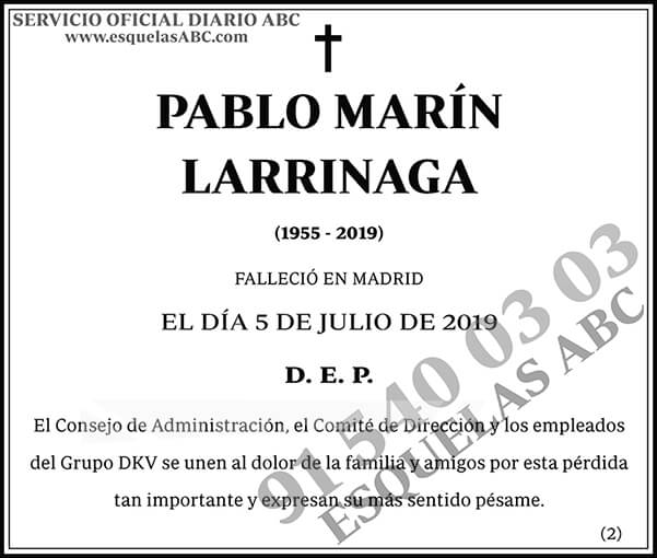 Pablo Marín Larrinaga