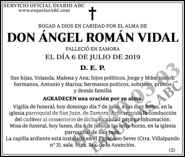 Ángel Román Vidal