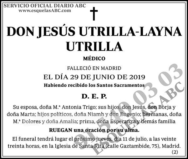Jesús Utrilla-Layna Utrilla