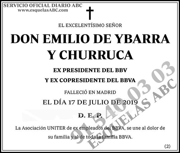Emilio de Ybarra y Churruca