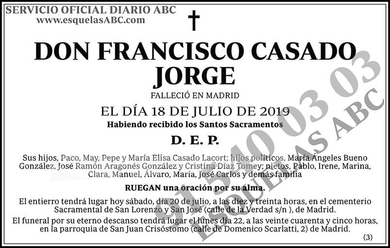 Francisco Casado Jorge