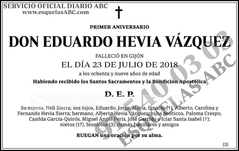 Eduardo Hevia Vázquez