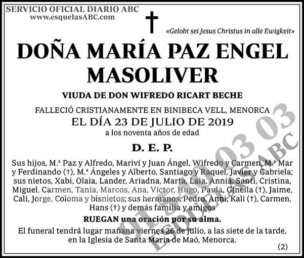 María Paz Engel Masoliver