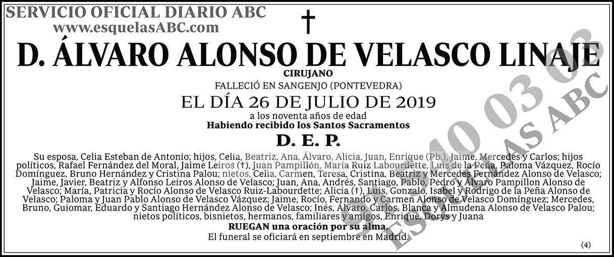 Álvaro Alonso de Velasco Linaje