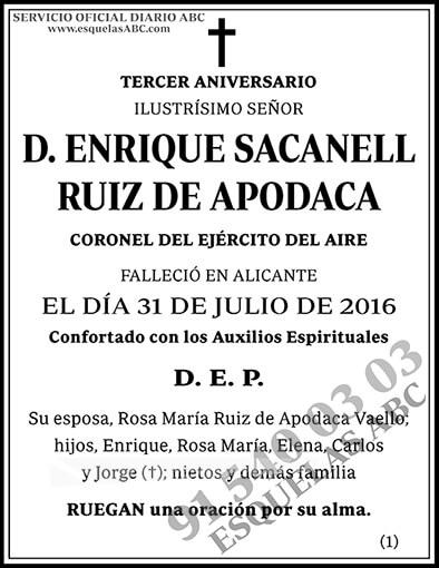Enrique Sacanell Ruiz de Apodaca