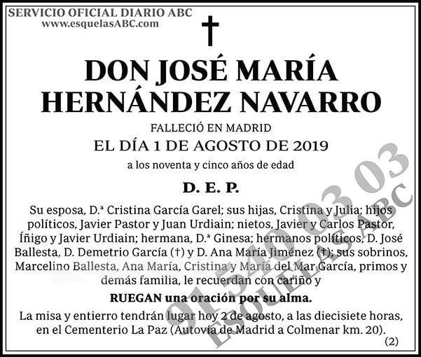 José María Hernández Navarro