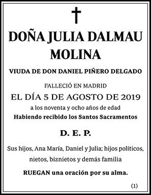Julia Dalmau Molina
