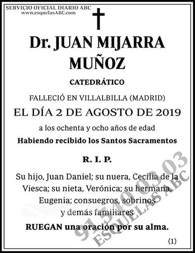 Juan Mijarra Muñoz