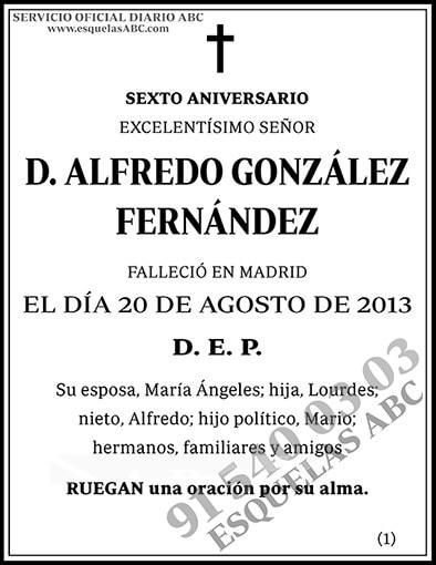 Alfredo González Fernández