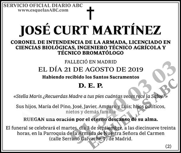 José Curt Martínez