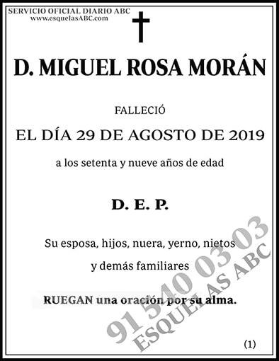 Miguel Rosa Morán