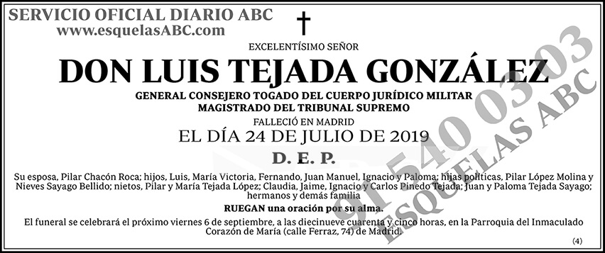 Luis Tejada González