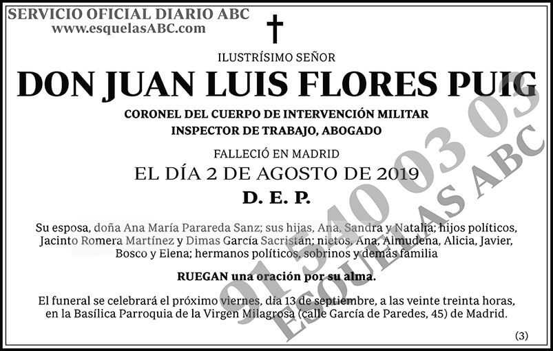 Juan Luis Flores Puig