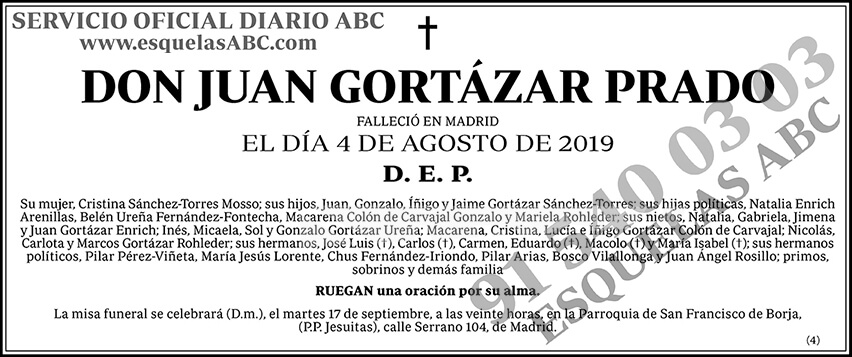 Juan Gortázar Prado