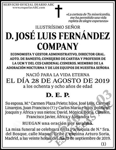 José Luis Fernández Company