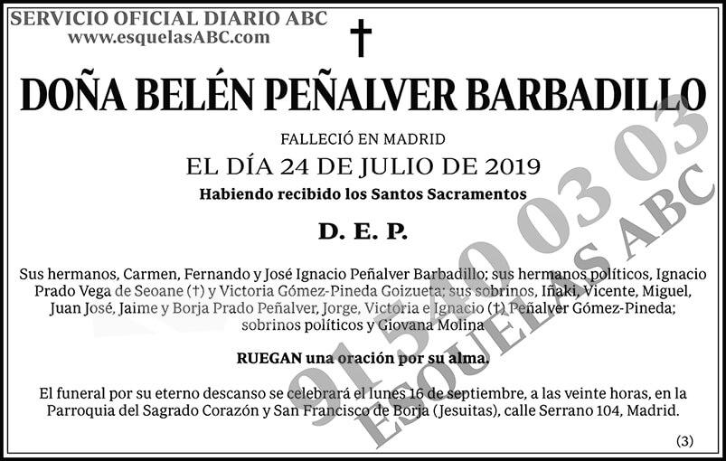 Belén Peñalver Barbadillo
