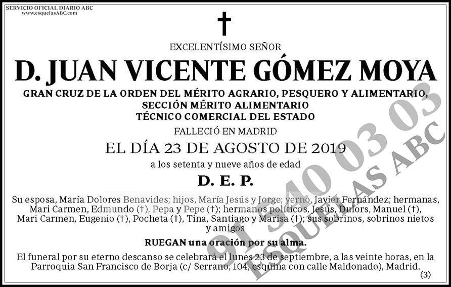 Juan Vicente Gómez Moya
