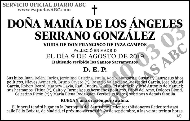 María de los Ángeles Serrano González
