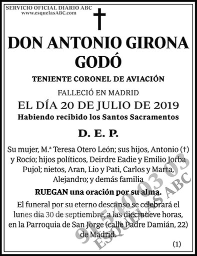 Antonio Girona Godó