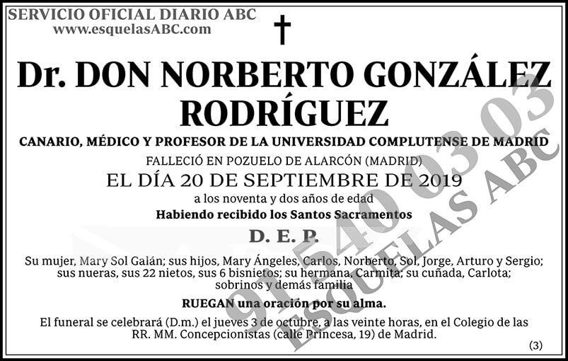 Norberto González Rodríguez