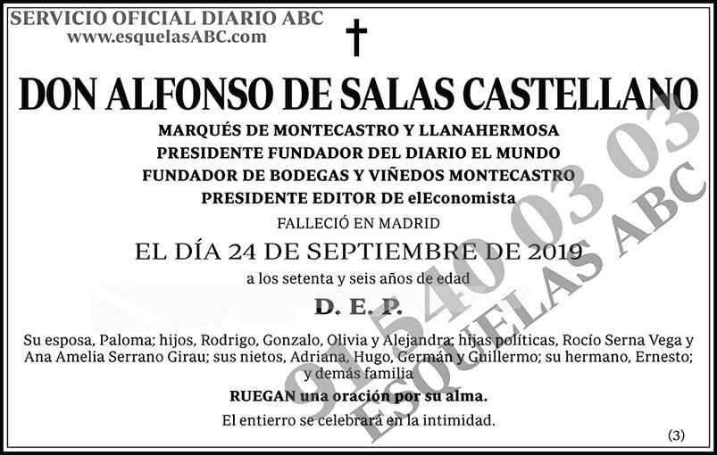 Alfonso de Salas Castellano