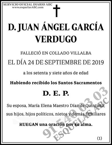 Juan Ángel García Verdugo