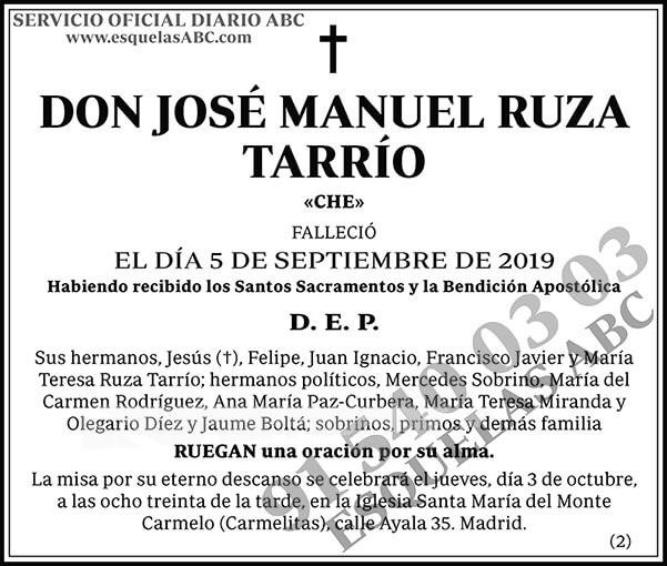 José Manuel Ruza Tarrío