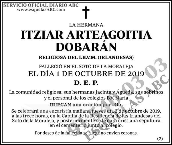 Itziar Arteagoitia Dobarán