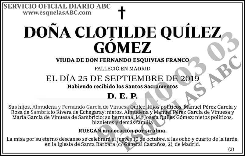 Clotilde Quílez Gómez