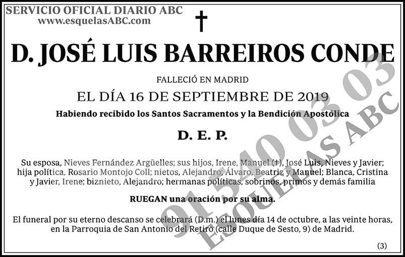José Luis Barreiros Conde