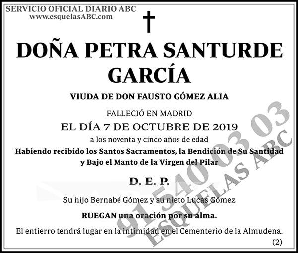 Petra Santurde García
