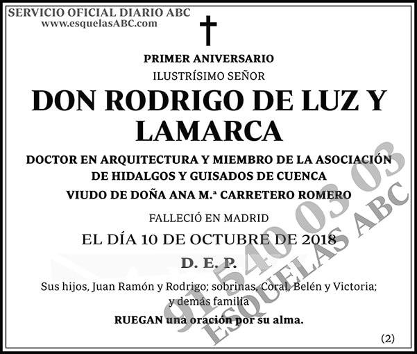 Rodrigo de Luz y Lamarca