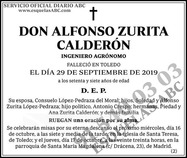 Alfonso Zurita Calderón